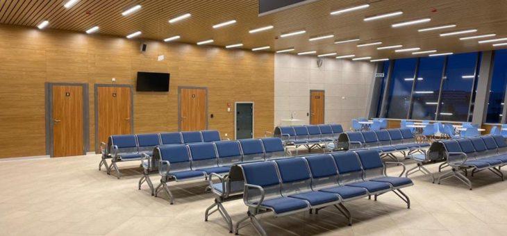 Аэропорт Петрозаводск завершает аттестацию нового аэровокзала.
