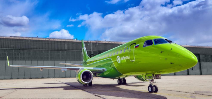 Авиаперевозчик S7 возобновляет рейсы по маршруту Москва-Петрозаводск -Москва.