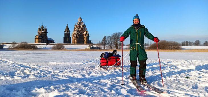 Петрозаводск-столица зимнего спортивного туризма России!
